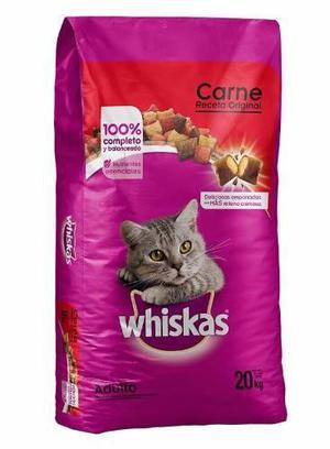 Wiskas Alimento Para Gato 20kg Petguru