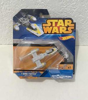 Y-wing Fighter Gold Leader Star Wars Nave Original Hot Weel