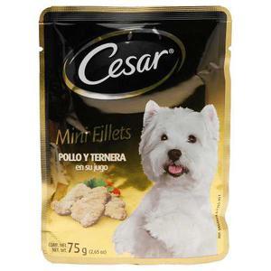 Alimento Para Perro Cesar Pollo Y Ternera Aduto 75 Gr
