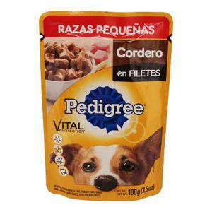 Alimento Para Perro Pedigree Cordero Razas Pequeñas 100 Gr