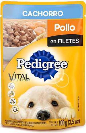 Alimento Para Perro Pedigree Pollo Cachorro 100 Gr