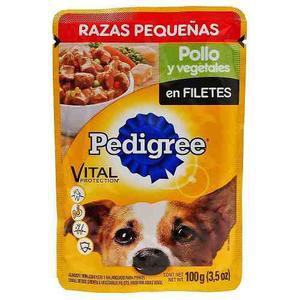 Alimento Para Perro Pedigree Pollo Y Vegetales Adulto 100 Gr