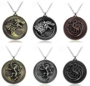 1 Collar Game Of Thrones Envio Gratis Juego Tronos Stark Got