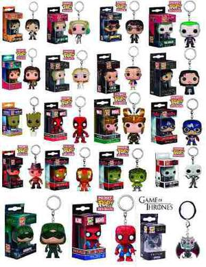 1 Llavero Funko Pop A Elegir Daryl Joker Deadpool Goku Harry