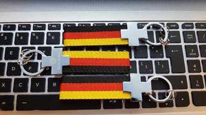 1 Llavero Volkswagen Das Auto Alemania Euro Envio Gratis