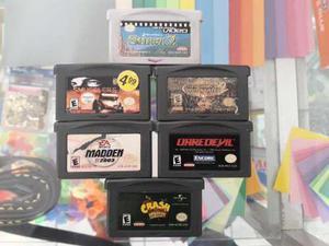 5 Juegos + 1 Una Película Shrek 2 Para Game Boy Advance Sp