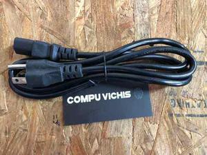 Cable De Corriente Cpu Monitor Fuente De Poder Nuevos 1.5m