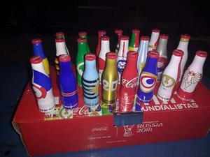 Caja De Mini Mundialiatas Coca Cola