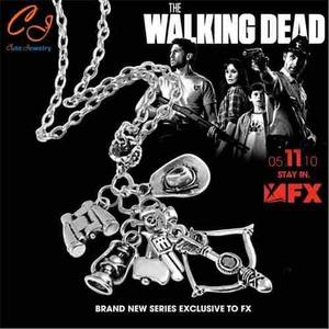 Collar-llavero Exclusivo De The Walking Dead