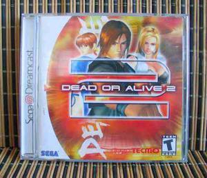 Dead Or Alive 2 - Dreamcast Peleas - Tecmo / Team Ninja