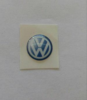 Emblema Vw Para Llavero Golf Jetta A4 Azul 99-04 Autoaheri