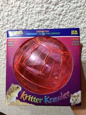 Esfera Para Hamster, Kritter Krawler Color Chica