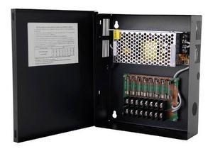 Fuente De Poder Epcom Para Cctv De 8 Salidas A 12 Vcd,