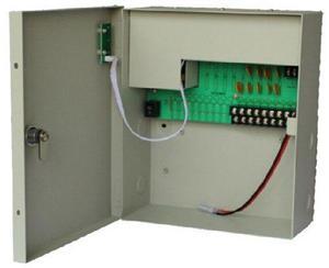 Fuente De Poder Regulada 12v/ 10 Amperes/ Para 9camaras Resp