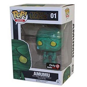 Funko Pop Amumu Gamestop League Of Legends Caja Detalles