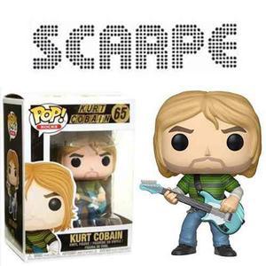 Funko Pop Kurt Cobain Teen Spirit Nuevo Nirvana