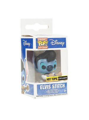 Funko Pop Pocket Keychain Stitch Elvis Llavero Hot Topic Exc
