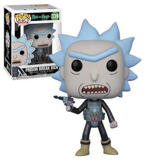Funko Pop Prision Break Rick #339 Rick And Morty Env Gratis