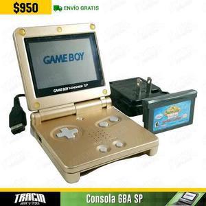 Game Boy Advance Sp] Gba Sp 001 Dorado Una Luz | Tracia