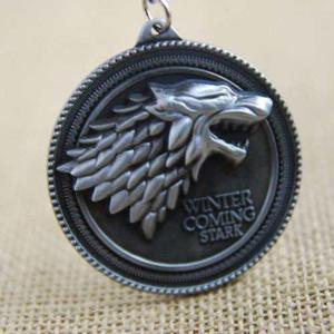 Game Of Thrones Juego De Tronos Llavero Stark Envío Gratis