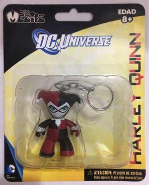 Harley Quinn Dc Universe Mini Mezitz Mez-itz Llavero