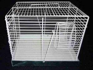 Jaula Cuadrada Para Hamster, Accesorios Extras