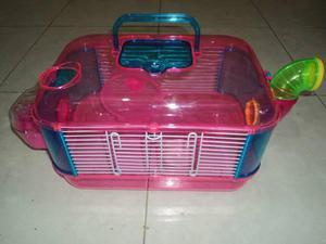 Jaula De Plastico Para Hamster 1 Piso