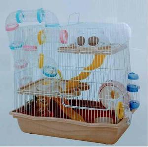 Jaula Fresno 4 P/hamster Nuevo Envió Gratis