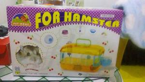 Jaula Hamster 40x26x26 Raton Jerbo Roedores Varios Colores