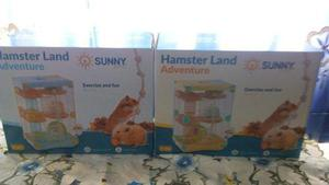 Jaula Hamster Land Adventure 28x21x43cm Raton Hogar