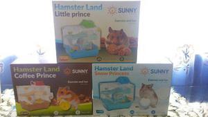 Jaula Hamster Land Adventure 29x23x30cm Raton Hogar