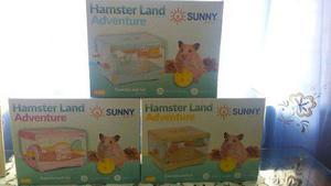 Jaula Hamster Land Adventure 36x27x25cm Raton Hogar