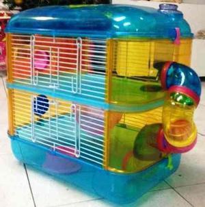 Jaula Hamsters De 2 Pisos