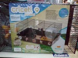 Jaula Italiana Criceti 9 Piratas (46x29.5x23) Cm Hamster