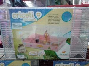 Jaula Italiana Criceti 9 Princesa (46x29.5x23) Cm Hamster