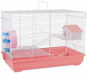 Jaula Para Hamster 2 Niveles *envío Gratis