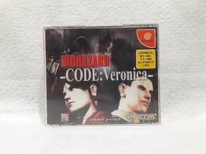Juego Resident Evil Codigo Veronica Dreamcast Japo