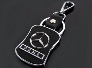 Llavero Colección Mercedes Logo Piel Benz Clase A B C Cla