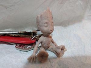 Llavero De Baby Groot, 5cm, Guardianes De La Galaxia