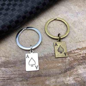 Llavero De Carta De As Llavero De Poker Dije Carta Las Vegas