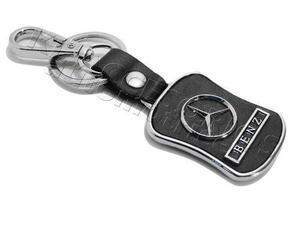 Llavero De Coleccion Con Piel Mercedes Benz, A, B, Ml, Gl