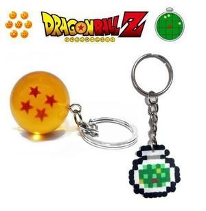 Llavero Esfera Del Dragón 4 Estrellas Dragon Ball Z +