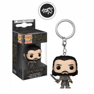 Llavero Funko Pop Jon Snow Beyond The Wall Game Of Thrones