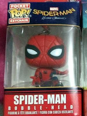 Llavero Funko Pop Spiderman Homecoming
