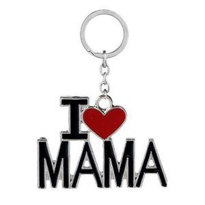 Llavero I Love Mamá Papá Acero Inoxidable (envio Gratis)