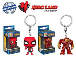 Llavero Iron Spider Hulkbuster Funko Pop Infinity War Marvel