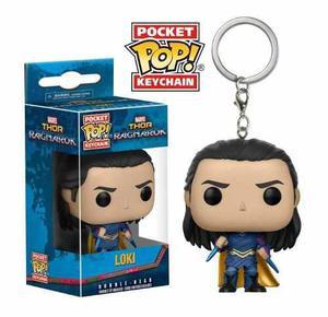 Llavero Keychain Funko Pop Loki Thor Ragnaror Promo