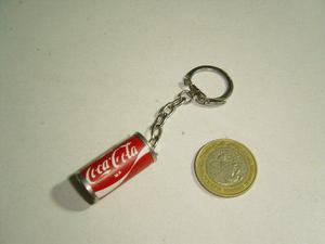 Llavero Latita Coca Cola En Lámina
