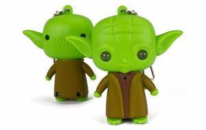 Llavero Star Wars Maestro Yoda Con Luz Sonido -envío