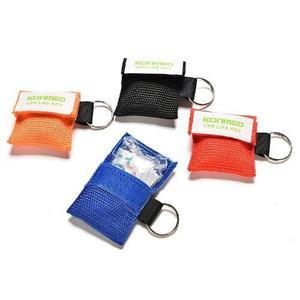 Mascarilla Para Rcp Llavero Pocket Mask Primeros Auxilios